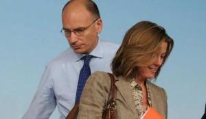 il premier enrico letta, il ministro della sanità beatrice lorenzin